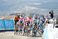 3rd September 2020; Le Teil to Mont Aigoual , France. Tour de France cycling tour, stage 6; Ef 2020, Bora - Hansgrohe Bettiol, Alberto Sagan, Peter Mont Aigoual