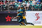 Jerry Nqolo of South Africa misses a catch during Day 1 of Hong Kong Cricket World Sixes 2017 Group A match between Marylebone Cricket Club vs South Africa at Kowloon Cricket Club on 28 October 2017, in Hong Kong, China. Photo by Vivek Prakash / Power Sport Images