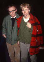 Woody Allen and Mia Farrow 1992<br /> Photo By Adam Scull/PHOTOlink.net /MediaPunch