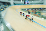 Ho Kwun Hei of the SCAA competes in Men Junior - Omnium I Scratch 7.5KM during the Hong Kong Track Cycling National Championship 2017 on 25 March 2017 at Hong Kong Velodrome, in Hong Kong, China. Photo by Marcio Rodrigo Machado / Power Sport Images