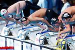 Shinri Shioura (JPN), JULY 31, 2013 - Swimming : Shinri Shioura of Japan starts in the men's 100m freestyle semifinal at the 15th FINA Swimming World Championships at Palau Sant Jordi arena in Barcelona, Spain. (Photo by Daisuke Nakashima/AFLO)