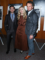 LOS ANGELES, CA, USA - OCTOBER 27: Wes Bentley, Brit Marling, Jason Clarke arrive at the Los Angeles Premiere Of Amplify's 'The Better Angels' held at the Directors Guild Of America on October 27, 2014 in Los Angeles, California, United States. (Photo by Xavier Collin/Celebrity Monitor)