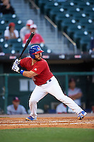 Buffalo Bisons catcher Tony Sanchez (26) at bat during a game against the Louisville Bats on June 22, 2016 at Coca-Cola Field in Buffalo, New York.  Buffalo defeated Louisville 8-1.  (Mike Janes/Four Seam Images)