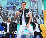 Justin Bieber, Jul 11, 2012 : Singer Justin Bieber performs during Japanese TV event in Tokyo, Japan, on July 11, 2012. (Photo by AFLO)