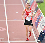 Wales' Dewi Griffiths runs in the 10,000m final<br /> <br /> Photographer Chris Vaughan/Sportingwales<br /> <br /> 20th Commonwealth Games - Day 9 - Friday 1st August 2014 - Athletics - Hampden Park - Glasgow - UK