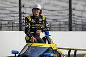 #26: Colton Herta, Andretti Autosport Honda poses for front row photos