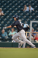 Tampa Yankees shortstop Tyler Wade (17) at bat during a game against the Fort Myers Miracle on April 15, 2015 at Hammond Stadium in Fort Myers, Florida.  Tampa defeated Fort Myers 3-1 in eleven innings.  (Mike Janes/Four Seam Images)