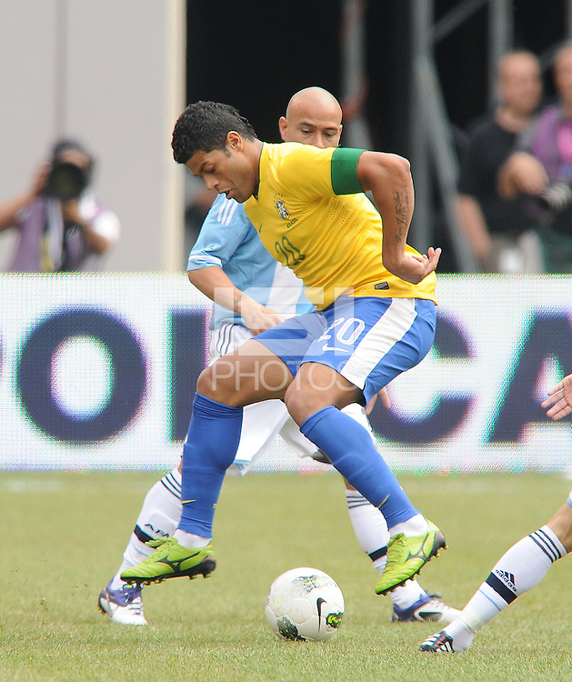 Brazil forward Hulk (20) The Argentina National Team defeated Brazil 4-3 at MetLife Stadium, Saturday July 9 , 2012.