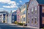 Antique homes in Marblehead, Massachusetts, USA