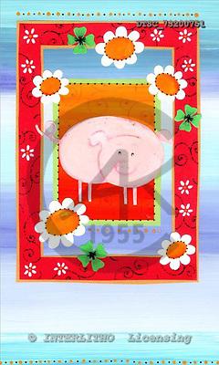 Hans, CUTE ANIMALS, paintings+++++,DTSC73200751,#AC# deutsch, illustrations, pinturas