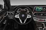 Car pictures of steering wheel view of a 2016 BMW 7 Series 4 Door Sedan Steering Wheel