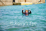 Sandra Fitzgibbon of Learn to Dive in the waters at Fahamore Harbour on Saturday.