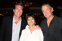 "LOS ANGELES - AUG 15:  Peter Bergman, Jill Farren Phelps, Eric Braeden at the ""The Young and The Restless"" Fan Club Event at the Universal Sheraton Hotel on August 15, 2015 in Universal City, CA"