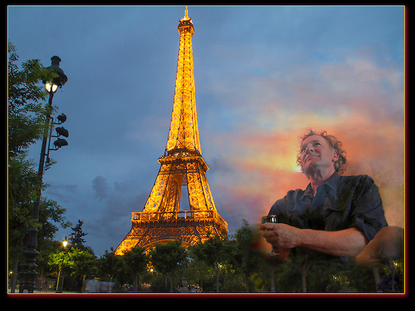 Photoshop. The Eiffel Tour is said to inspire.