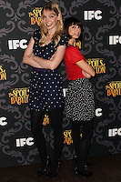 """LOS ANGELES, CA - JANUARY 07: Riki Lindhome, Kate Micucci arriving at the Los Angeles Screening Of IFC's """"The Spoils Of Babylon"""" held at the Directors Guild Of America on January 7, 2014 in Los Angeles, California. (Photo by Xavier Collin/Celebrity Monitor)"""