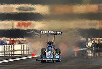 Nov 4, 2007; Pomona, CA, USA; NHRA top fuel dragster driver David Grubnic during the Auto Club Finals at Auto Club Raceway at Pomona. Mandatory Credit: Mark J. Rebilas-US PRESSWIRE