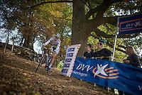 World Champion Thalita de Jong (NED/Rabo-Liv)<br /> <br /> 25th Koppenbergcross 2016
