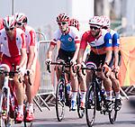 Daniel Chalifour et Jean-Michel Lachance, Rio 2016 - Para Cycling // Paracyclisme.<br /> Team Canada athletes compete in Men's Cycling Road B Race // Les athlètes d'Équipe Canada participent à la course cycliste masculine sur route B. 17/09/2016.