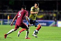 SAO PAULO – BRASIL, 19-06-2019:Roger Martínez de Colombia en acción durante partido de la Copa América Brasil 2019, grupo B, entre Colombia y Catar jugado en el Estadio Morumbí de Sao Paulo, Brasil. / Roger Matinez of Colombia in action during the Copa America Brazil 2019 group B match between Colombia and Qatar played at Morumbi stadium in Sao Paulo, Brazil. Photos: VizzorImage / Julian Medina / Contribuidor