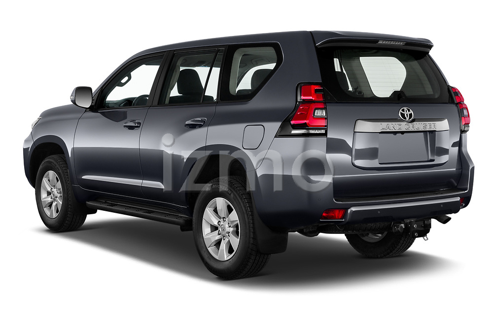 Car pictures of rear three quarter view of 2021 Toyota Land-Cruiser-150 Country 5 Door SUV Angular Rear