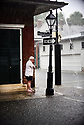 Heavy rains flooded streets and businesses ahead of Tropical Depression Barry, which is expected to make landfall as a Category 1 hurricane on Sat., in New Orleans, Wed., July, 10, 2019.