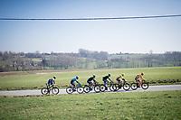 breakaway group<br /> <br /> 73rd Kuurne - Brussels - Kuurne 2021<br /> ME (1.Pro)<br /> 1 day race from Kuurne to Kuurne (BEL/197km)<br /> <br /> ©kramon