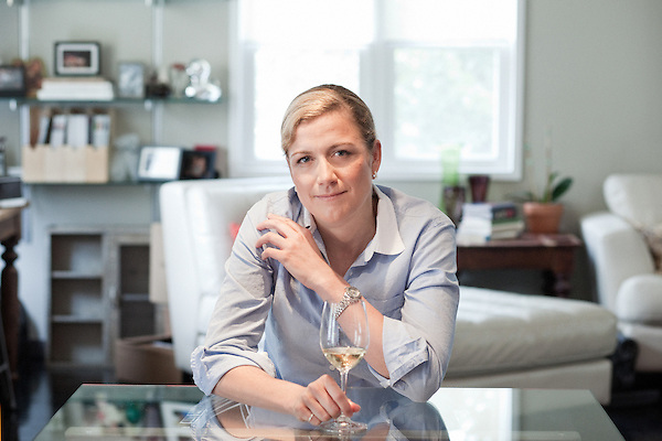 August 5, 2011. Raleigh, NC..Ashely Christensen, the owner of Poole's Diner, at her home in Raleigh. Christensen will soon open 2 new restaurants and a bar in a single building along S. Wilmington Street in Raleigh.