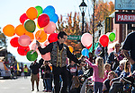 Mark Schmidt, with Carson Jewelry & Loan hands out balloons at the annual Nevada Day parade in Carson City, Nev. on Saturday, Oct. 29, 2016. <br />Photo by Cathleen Allison