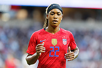 Saint Paul, MN - Tuesday September 03, 2019 : Jessica McDonald #22 during a 2019 Victory Tour match between Portugal and the United States at Allianz Field, on September 03, 2019 in Saint Paul, Minnesota.