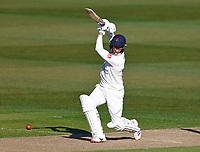 Luke Wood bats for Lancashire during Kent CCC vs Lancashire CCC, LV Insurance County Championship Group 3 Cricket at The Spitfire Ground on 22nd April 2021