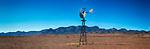 Wind Pump Bore and Wilpena Pound Range, Flinders Ranges National Park, South Australia