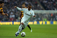 Pictured:  Wayne Routledge. Sunday 24 February 2013<br /> Re: Capital One Cup football final, Swansea v Bradford at the Wembley Stadium in London.