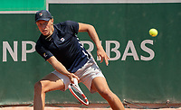 Paris, France, 9 june 2021, Tennis, French Open, Roland Garros,  Juniors, Leo Borg (SWE)<br /> Photo: tennisimages.com