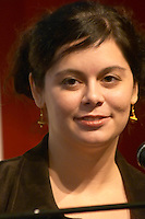 Mena Trott, co-founder of Six Apart at the Les Blog conference in Paris December 2005 on blogging, new media and internet strategy