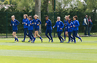 Reims, FRA - June 8, 2019: The USWNT trains in preparation for their first group stage match at the FIFA Women's World Cup.