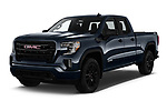 2019 GMC Sierra-1500 Elevation 4 Door Pickup Angular Front stock photos of front three quarter view