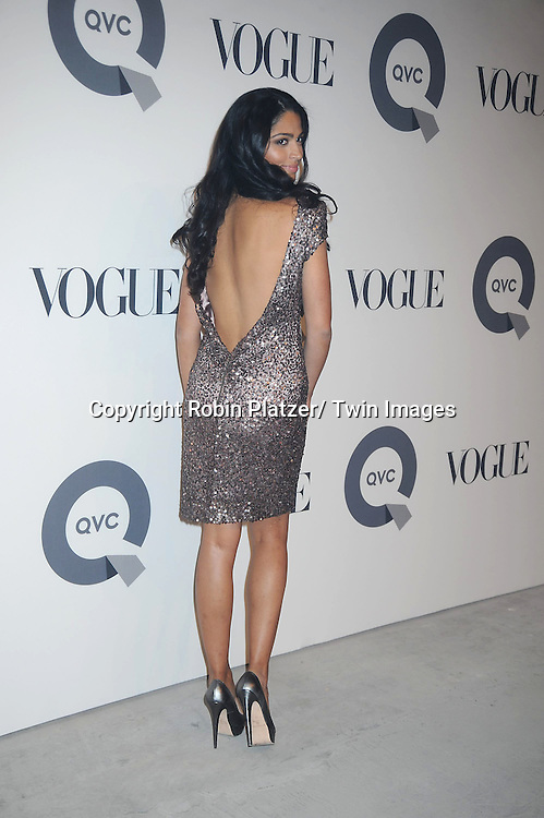 Camila Alves  attending The QVC and Vogue Fashion Week Party on February 11, 2011 at 229 West 43rd Street in New York City.