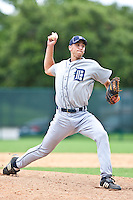 Steve Crnkovich of the Gulf Coast League Tigers during the game against the Gulf Coast League Braves July 3 2010 at the Disney Wide World of Sports in Orlando, Florida.  Photo By Scott Jontes/Four Seam Images