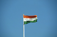 "Asien Indien IND .indische Nationalflagge  - Politik Unabhängigkeit Freiheitsbewegung Gewaltlosigkeit Macht Staat indische Union Demokratie Fahne Flagge xagndaz | .Asia India .indian flag - government power policy democracy .| [copyright  (c) agenda / Joerg Boethling , Veroeffentlichung nur gegen Honorar und Belegexemplar an / royalties to: agenda  Rothestr. 66  D-22765 Hamburg  ph. ++49 40 391 907 14  e-mail: boethling@agenda-fototext.de  www.agenda-fototext.de  Bank: Hamburger Sparkasse BLZ 200 505 50 kto. 1281 120 178  IBAN: DE96 2005 0550 1281 1201 78 BIC: ""HASPDEHH"" ,  WEITERE MOTIVE ZU DIESEM THEMA SIND VORHANDEN!! MORE PICTURES ON THIS SUBJECT AVAILABLE!! INDIA PHOTO ARCHIVE: http://www.visualindia.net] [#0,26,121#]"