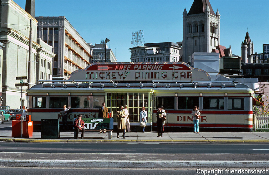 St. Paul:  Mickey's Diner c. 1935.