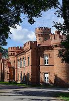 Schloss Raudone Pilis, 16.Jh., Litauen, Europa