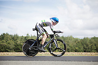Luke Durbridge (AUS/Orica-GreenEDGE) speeding along<br /> <br /> Elite Men TT<br /> UCI Road World Championships / Richmond 2015