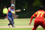 Nairry Thapa of Nepal in action during their ICC 2016 Women's World Cup Asia Qualifier match between China and Nepal  on 11 October 2016 at the Kowloon Cricket Club in Hong Kong, China. Photo by Marcio Machado / Power Sport Images