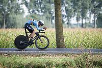 Alec Segaert (BEL)<br /> <br /> Junior Men Individual Time Trial from Knokke-Heist to Bruges (22.3 km)<br /> <br /> UCI Road World Championships - Flanders Belgium 2021<br /> <br /> ©kramon
