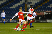 Fleetwood Town's Conor McAleny during the The Checkatrade Trophy match between Bury and Fleetwood Town at Gigg Lane, Bury, England on 9 January 2018. Photo by Juel Miah/PRiME Media Images.