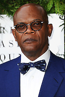 Samuel L Jackson<br /> arrives for the One for the Boys charity fashion event at the V&A Museum, London.<br /> <br /> <br /> ©Ash Knotek  D3133  12/06/2016