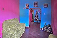 Sala com sofa em casa. Mucuge. Bahia. 2014. Foto de Alberto Viana.