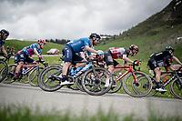 José Joaquín Rojas (ESP/Movistar)<br /> <br /> 73rd Critérium du Dauphiné 2021 (2.UWT)<br /> Stage 8 (Final) from La Léchère-Les-Bains to Les Gets (147km)<br /> <br /> ©kramon