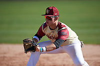 Lawrence Sutton (10) of Lawrence County High School in Ethridge, Tennessee during the Baseball Factory All-America Pre-Season Tournament, powered by Under Armour, on January 13, 2018 at Sloan Park Complex in Mesa, Arizona.  (Mike Janes/Four Seam Images)