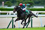 KITAKYUSHU,JAPAN-JUL 4: First Force,ridden by Katsuma Sameshima,wins the CBC Sho at Kokura Racecourse on July 4,2021 in Kitakyushu,Fukuoka,Japan. Kaz Ishida/Eclipse Sportswire/CSM